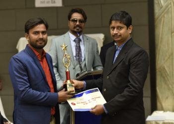 Mr. Jayanata Halder a Successful Influencer of 2020. Awarded by BDN Groups.